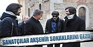 Sanatçılar Akşehir'i Gezdi