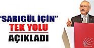 Kılıçdaroğlu, Sarıgül İçin Tek Yolu Açıkladı