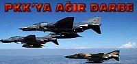 Savaş uçakları Kandil'i vurdu