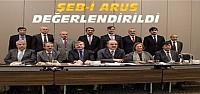 Şeb-i Arus Değerlendirme Toplantısı Yapıldı