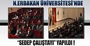 """""""SEDEP"""" Çalıştayı N.E. Üniversitesinde Yapıldı"""