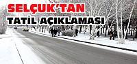 Selçuk Üniversitesi Tatil Edildi