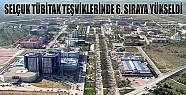 Selçuk Üniversitesi Tübitak Teşviklerinde 6. Sırada