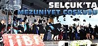 Selçuk Üniversitesinde Mezuniyet Heyecanı