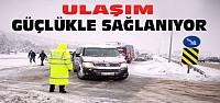 Seydişehir-Antalya Yolunda Ulaşıma Kar Engeli
