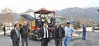 Seydişehir'de Uludağ Caddesi Yenilendi