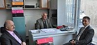 Vergi Dairesi Müdüründen Esnaflara Ziyaret