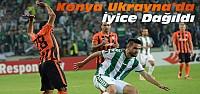 Shakhtar Donetsk-Atiker Konyaspor:Maç Sonucu