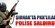 Şırnak'ta PKK'lılar Polise Saldırdı!