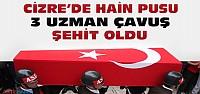 Şırnak'tan Acı haber:3 Asker Şehit