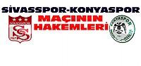 Sivas-Konya Maçının Hakemleri Belli Oldu