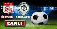 Sivasspor Torku Konyaspor Maçı-CANLI