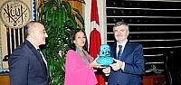 Sri Lanka Büyükelçisi'nden Büyükşehir'e Ziyaret