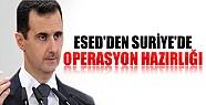 Suriye'de Operasyon Hazırlığı