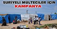 """Suriyeli Mülteciler İçin """"Bir Tabak bir Battaniye"""" Kampanyası"""