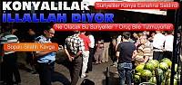 Suriyeliler Konyalı Esnaflara Saldırdı