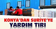 Suriye'ye Konya'dan Yardım TIRI