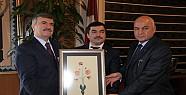 Tacikistan Büyükelçisi Akyürek'i Ziyaret Etti