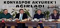 Tahir Akyürek Konyaspor Yemeğine Katıldı-VİDEO