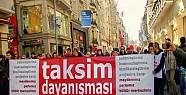 Taksim Dayanışmacılarından Açlık Grevi