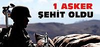 Terör Bayram Dinlemedi:1 Asker Şehit