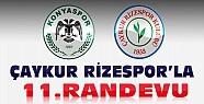 T.Konyaspor Çaykur Rizespor İle 11. Maçına Çıkıyor