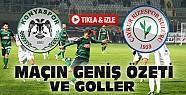 T.Konyaspor Ç.Rizespor Maç Özeti-VİDEO-Tıkla İzle