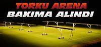 Torku Arena Stadının Zemini Bakıma Alındı