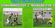 Torku Konyaspor 2 Kırıkhanspor 0
