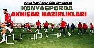 Torku Konyaspor Akhisar Belediyespor Maç Hazırlıkları