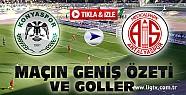 Torku Konyaspor Antalyaspor Maç Özeti-VİDEO-Tıkla İzle