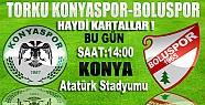 Torku Konyaspor Boluspor Maçı Birazdan Başlayacak