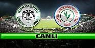 Torku Konyaspor Çaykur Rizespor-CANLI