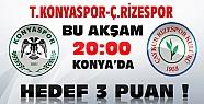 Torku Konyaspor Çaykur Rizespor Maçı Bu Akşam