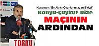 Torku Konyaspor Çaykur Rizespor Maçının...