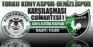 Torku Konyaspor Denizlispor'u Ağırlıyor