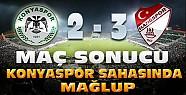 Torku Konyaspor-Elazığspor Maç Sonucu
