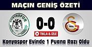 Torku Konyaspor-Galatasaray-Geniş Özet-VİDEO-Tıkla İzle