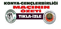 Torku Konyaspor-Gençlerbirliği-ÖZET-VİDEO
