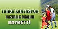 Torku Konyaspor Hazırlık Maçını Kaybetti