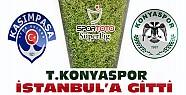 Torku Konyaspor İstanbul'a Gitti