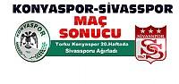 Torku Konyaspor Medicana Sivasspor Maç Sonucu