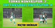 Torku Konyaspor'dan Galibiyet