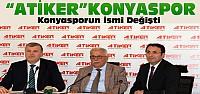 Torku Konyasporun ismi değişiyor