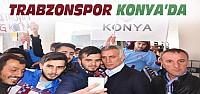 Trabzonspor Kafilesi Konya'ya Geldi