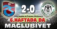Trabzonspor Konyaspor Maçı Sona Erdi-Bu Hafta da Puansız Bitti