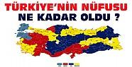 TÜİK Açıkladı:Türkiye'nin Nüfusu Kaç Oldu?
