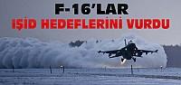 Türk Savaş Uçakları IŞİD Hedeflerini Bombaladı