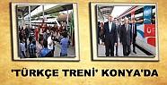 'Türkçe Treni' Konya'da