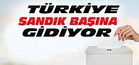 Türkiye Sandık Başına Gitti